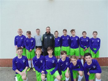 Year 8/9 Football: CVEA 5 - Biddick 1