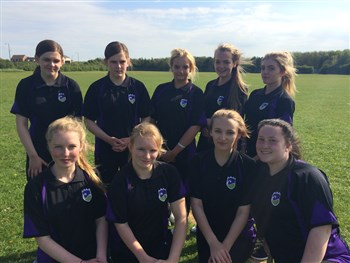 Under 15' Girls Rounders Team