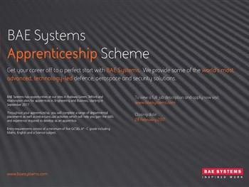 BAE Systems - Apprenticeship Scheme