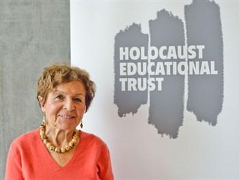 CVEA welcomes survivor from the Holocaust Trust