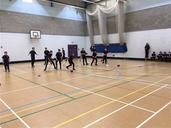 House Dodgeball Competition