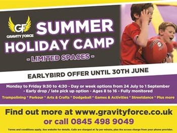 Gravity Force Summer Camp