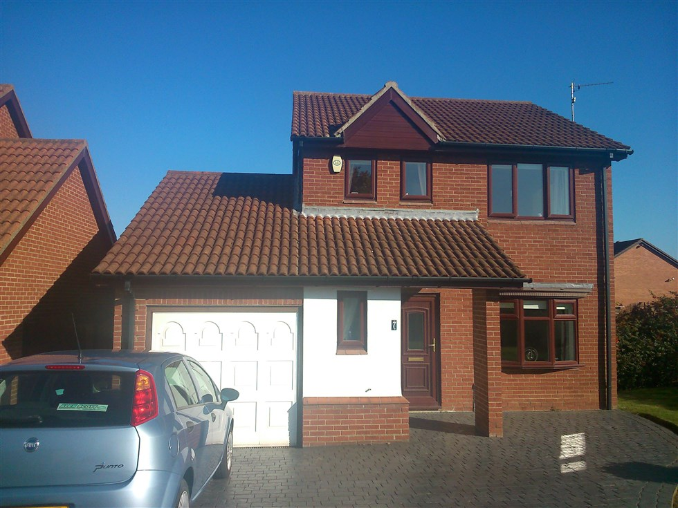 Over garage extension with 2 storey extension at back of for Extension garage