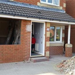 Garage conversion & back extension