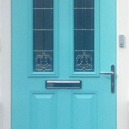 Bespoke composite door