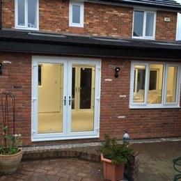 Single storey extension, Bedlington 1