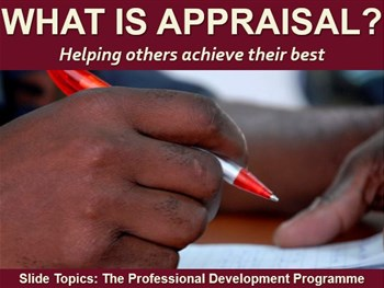 What Is Appraisal?