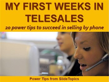 My First Weeks in Telesales