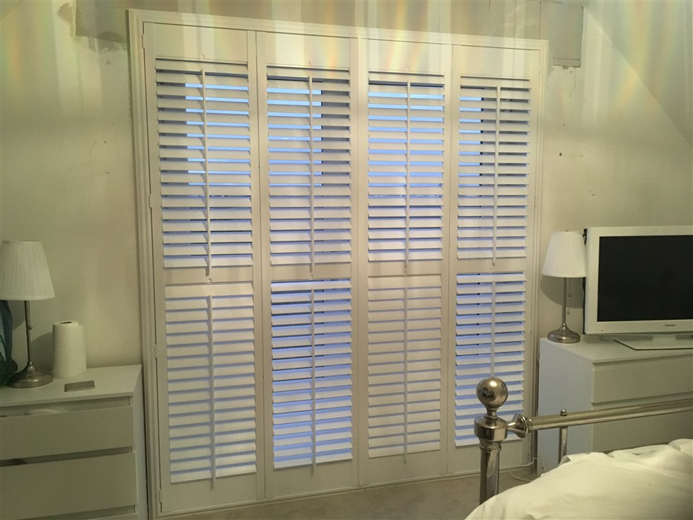 French Door Plantation Shutter Uk Blinds And Shadings