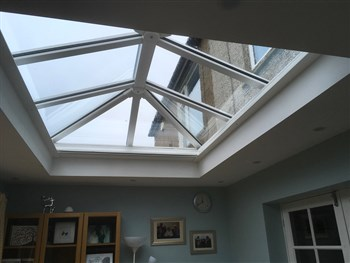 Motorised Orangery roof blind